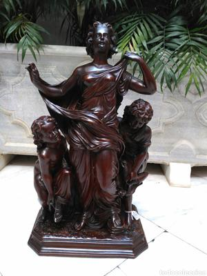Escultura de barro del siglo XIX