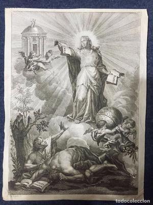Grabado de Julian Mas ff. S. XVIII