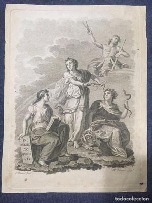 Grabado de L. Planes y M.Peleger. Ff. S. XVIII