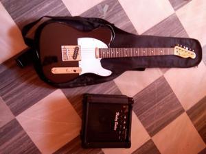 Guitarra + Amplificador + Funda
