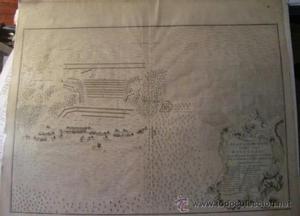 MAPA S. XVIII. PLAN OF THE BATTLE FOUGHT NEAR WINENDAD, BY