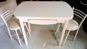 Mesa cocina y 2 sillas