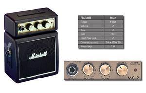 Micro Amplificador combo Marshall MS-2