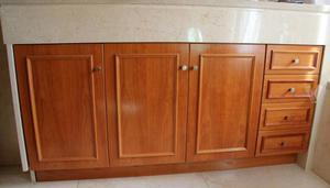 Mueble De Ba O Completo De 90 Cm Color Roble Claro Posot
