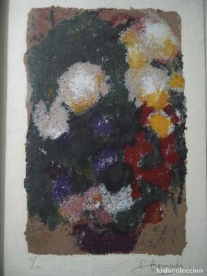 Obra de C. Aguade --- firmada y numerada