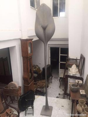 Ramon de Soto. Escultura de resina y hierro