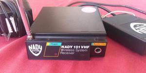 Sistema inalambrico NADY 101 VHF para guitarra