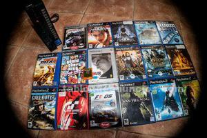 Vendo playstation 2 con 17 juegos