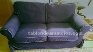 Vendo sofá de dos plazas