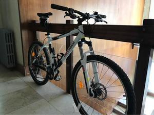 bicicleta montaña rockrider 5.2 decathlon