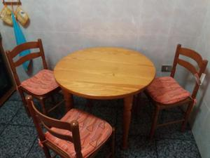Mueble cocina y mesa cocina blancas zaragoza posot class - Mueble mesa cocina ...