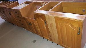 Vendo muebles bajos de cocina en buen estado 95 al conjunto