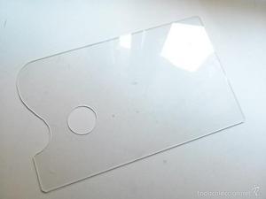 paleta de pintor transparente