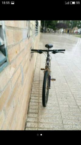 una bici de montaña