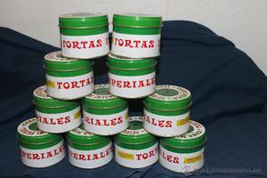 10 CAJAS METALICAS TORTAS IMPERIALES, CONFITERIA MIRA,
