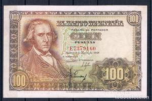 100 PESETAS DE  SERIE-E SC-