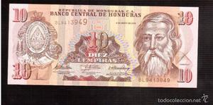BILLETES DE AMERICA HONDURAS