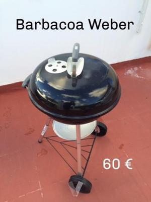 Barbacoa weber carbon smokey joe valencia posot class for Barbacoa weber carbon