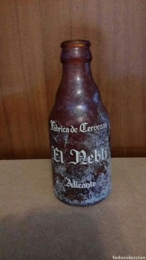 Botella de cerveza El Reblí