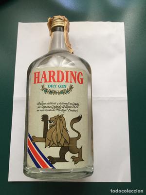 Botella de ginebra Harding,