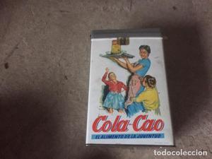 CAJA DE LATA DE COLACAO CON LA INSCRIPCION FRUTOS SECOS