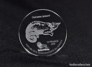 CONGO 10 FRANCOS