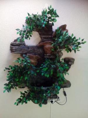 Fuente de jardin con pajaritos todo de hierro posot class - Fuentes de jardin de segunda mano ...