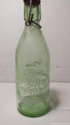 Gaseosa Azafor cristal verde 375cc