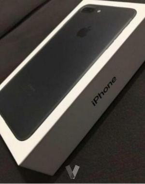 Iphone 7 en color negro mate de 128 Gb