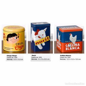 Vieja y decorativa lata chupa chus posot class for Oficinas asm madrid