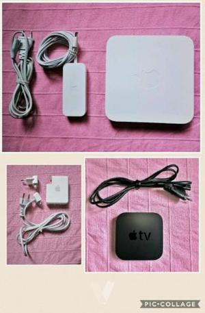 Lote Apple (iPhone, TV, Airport, Adaptador)