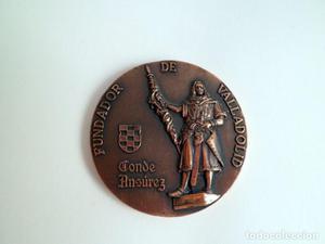 Medalla conmemorativa Caja de Ahorros Popular. Conde