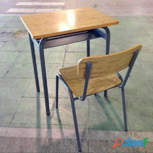 Mesas y sillas para colegio, clases, academias, oficinas