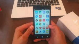 Móvil Alcatel de pantalla grande. libre