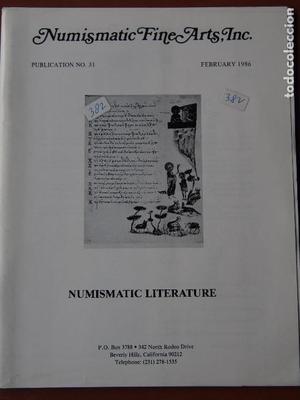 Numismatic Fine Arts, 31, Numismatic Literature, February