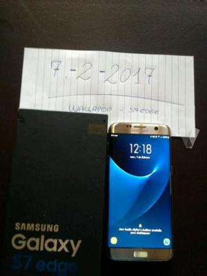 Samsung Galaxy S7 Edge LIBRE 32gb dorado