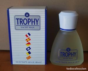 Trophy Yacht Man Eau de Toilette 200 ml. Nueva, sin estrenar