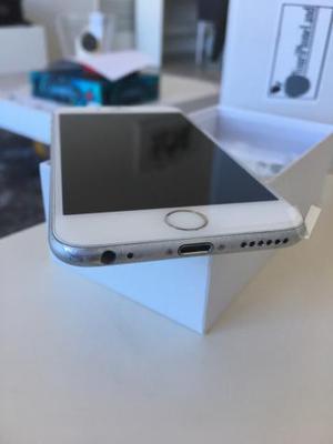 iPhone 6 16Gb plata y blanco libre
