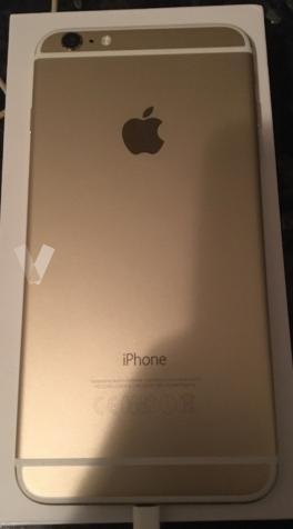iPhone 6 Plus oro