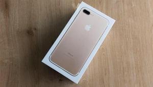 iPhone 7 Plus dorado nuevo