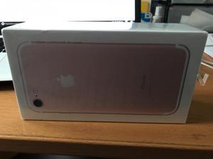 iPhone 7 nuevo a estrenar rosa de 128GB