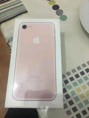 iphone 7 plus 32g rosa sin abrir con garantia