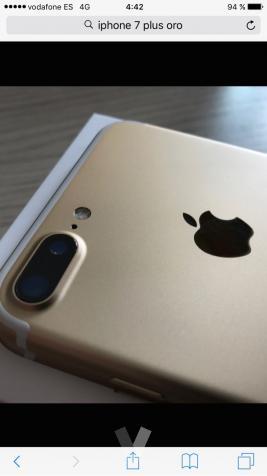 iphone 7 plus oro precintado