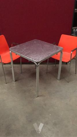 mesa metalica de exterior