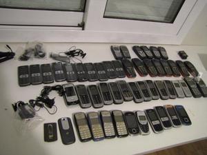 teléfonos usados para piezas