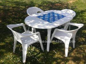 2 conjuntos sillas y sillones + mesas