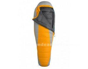 2 sacos dormir nuevos! plumón marmot ouray w-18°, naranja