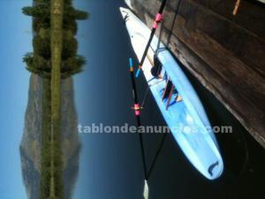 Barco de remo individual banco movil