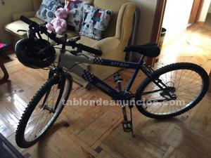 Bicicleta btt basic de montaña