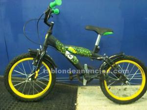 Bicicleta para niño ben 10